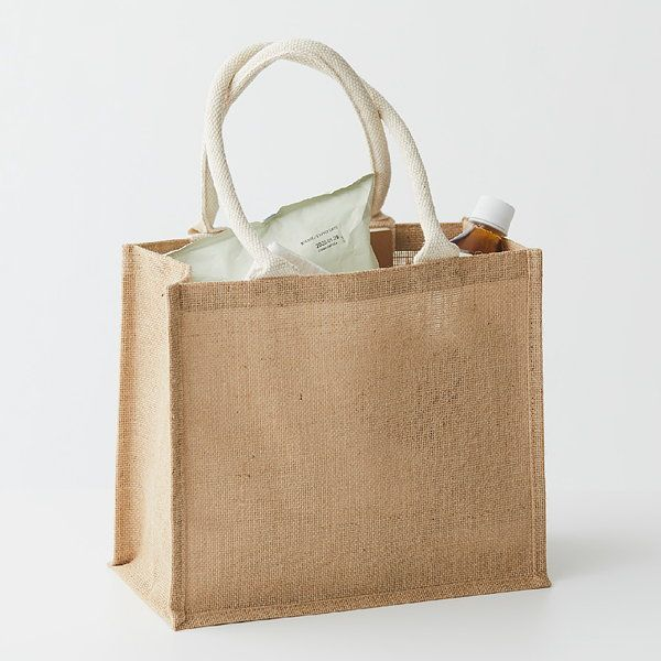 Túi tote may bằng vải đay