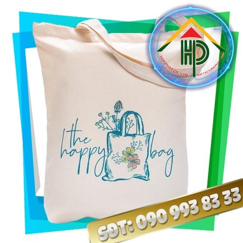 Túi vải canvas The Happy Bag
