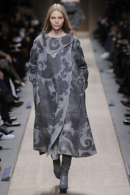 Vải dạ trong thời trang