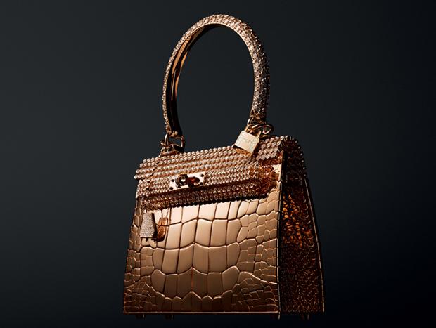 Hình ảnh của túi xách Hermes Kelly Rose Gold