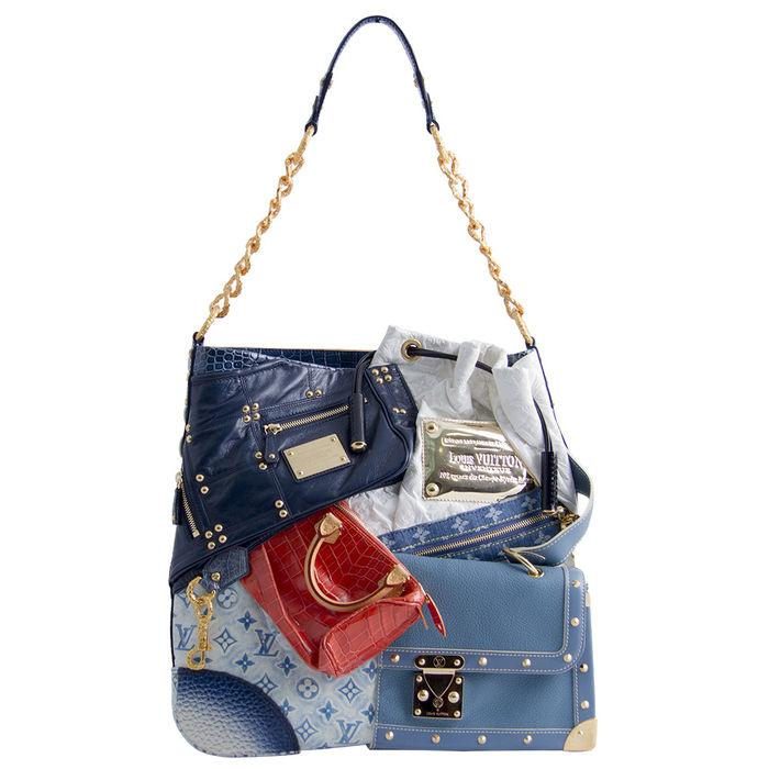 Hình ảnh túi xách Tribute Patchwork của Louis Vuitton