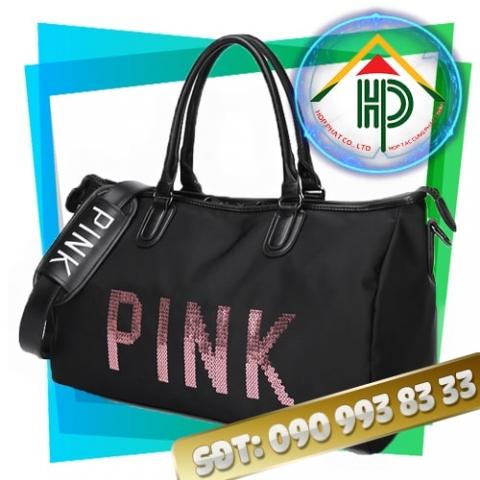 Túi xách du lịch Pink