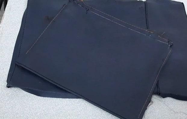 Tận dụng phụ liệu từ chiếc túi xách cũ