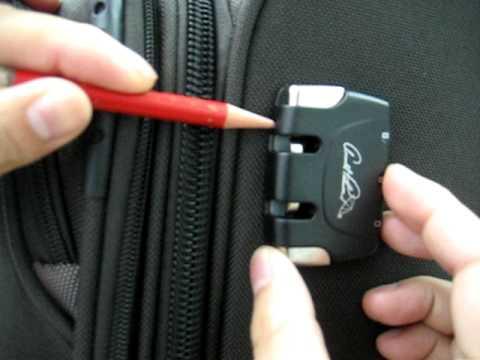 Đổi mật khẩu khóa vali khi quên mật khẩu
