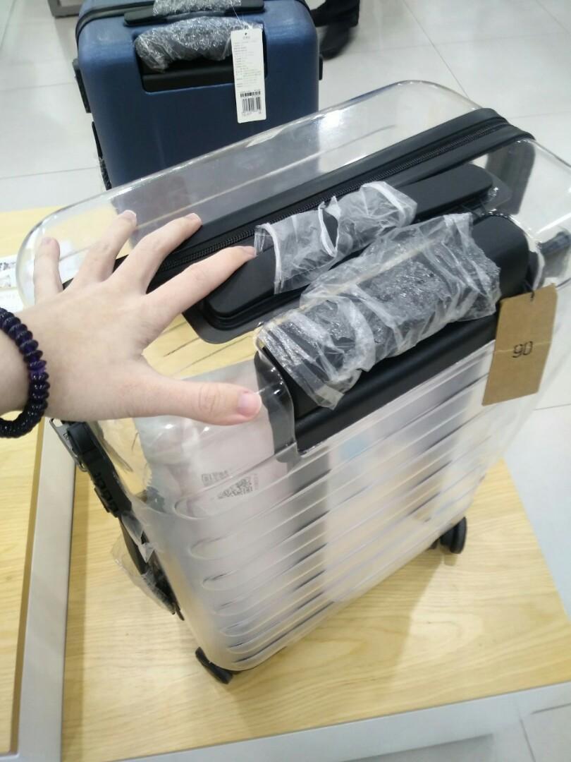 Kiểu vali Xiaomi trong suốt
