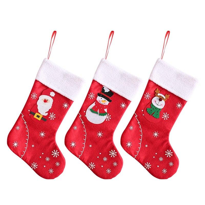 làm vớ giáng sinh bằng túi vải không dệt