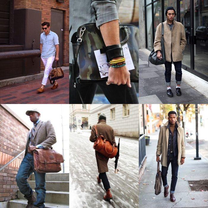 lựa chọn túi xách nam phù hợp