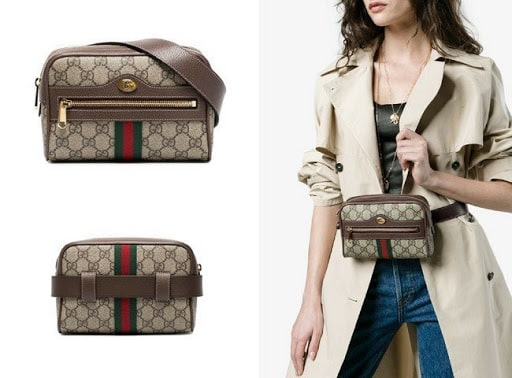 Mẫu túi GG Supreme Belt bag