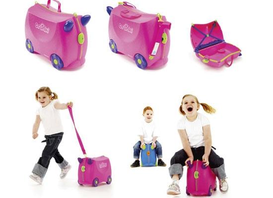 Vali Trunki- Mẫu vali siêu xinh dành cho các bé gái