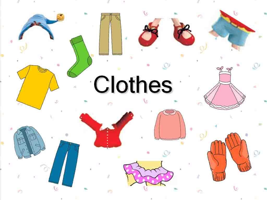 quần áo và tất cho trẻ