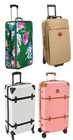 Suitcase (vali) với đa dạng chất liệu
