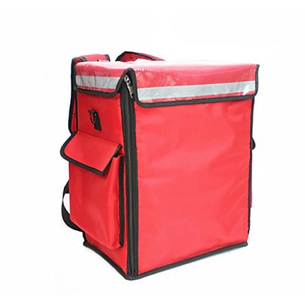 Túi giao hàng giữ nhiệt dạng đứng tiện dụng, giảm diện tích trên xe