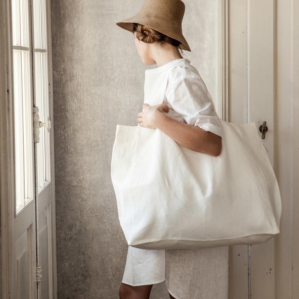 túi xách bằng vải linen