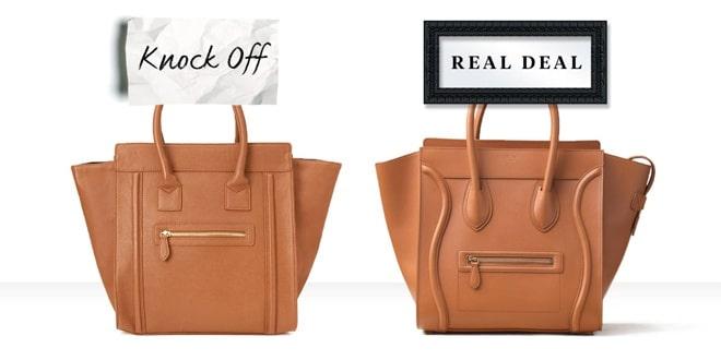 Túi xách là hàng fake