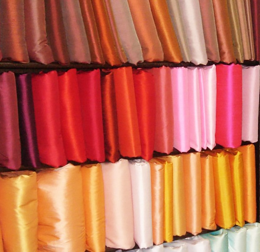 Phân loại vải lụa