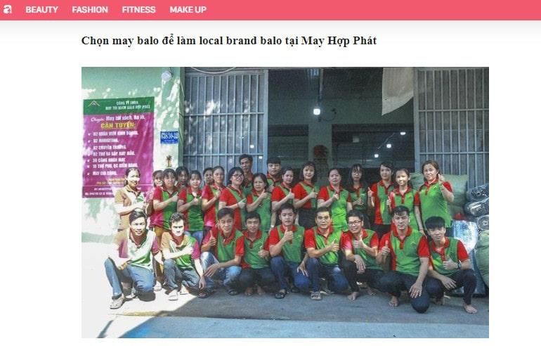 aFamily.vn - Viết về xưởng sản xuất balo Local brand uy tín nhất tại TPCHM