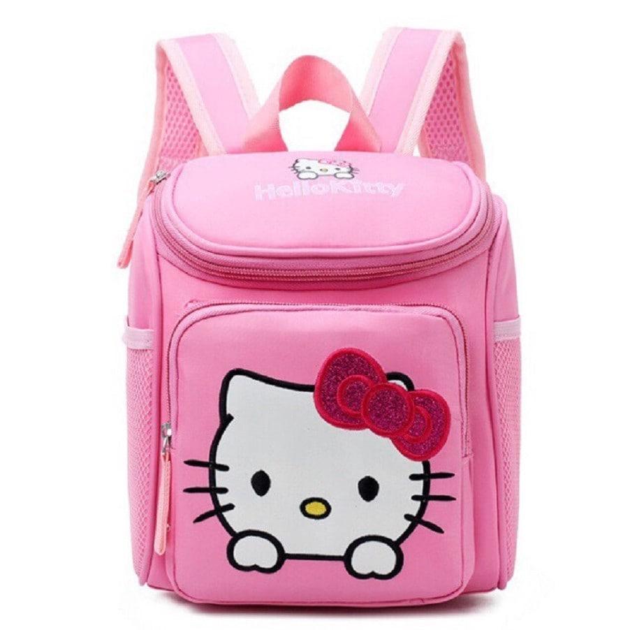 Balo Hello Kitty dành cho bé gái hình hộp
