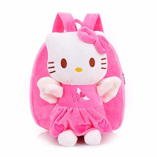 Balo Hello Kitty bằng bông