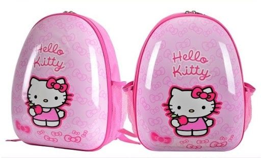 Mẫu balo Hello Kitty dành cho bé gái hình quả trứng