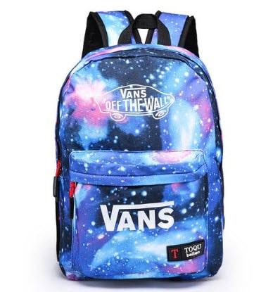 Mẫu balo Vans hai màu Off The Wall họa tiết Galaxy