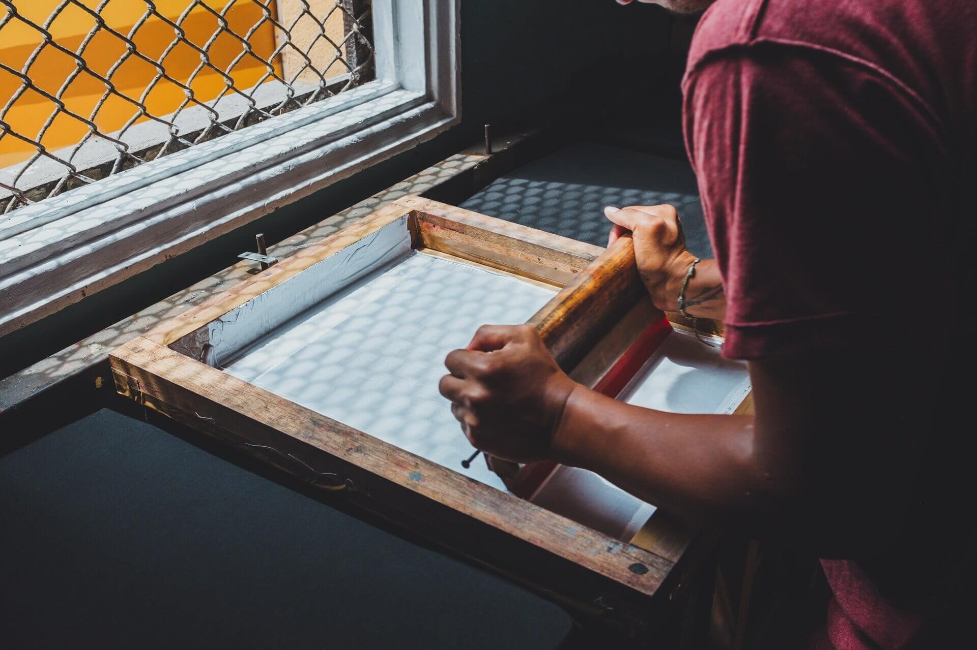 in lụa túi vải canvas tại nhà cách dễ dàng