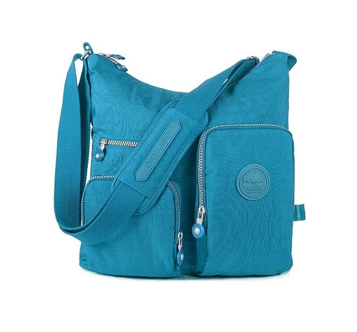 Oakarbo Nylon Multi Pocket- Mẫu túi đeo chéo nữ đẹp nhất 2020