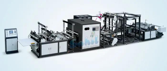 máy làm túi vải không dệt xử lý hoàn toàn tự động