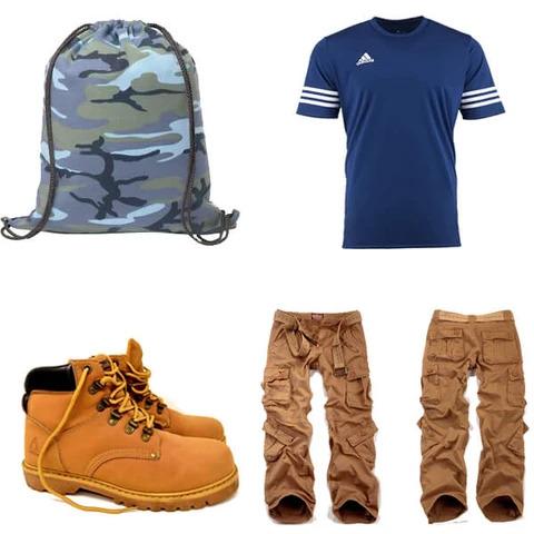 trang phục năng động dành cho nam