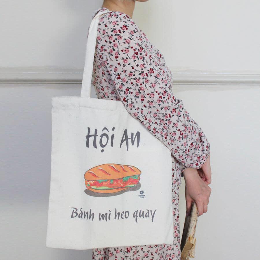 Túi vải bố in hình ảnh Việt, món quà kỷ niệm ý nghĩa nhất