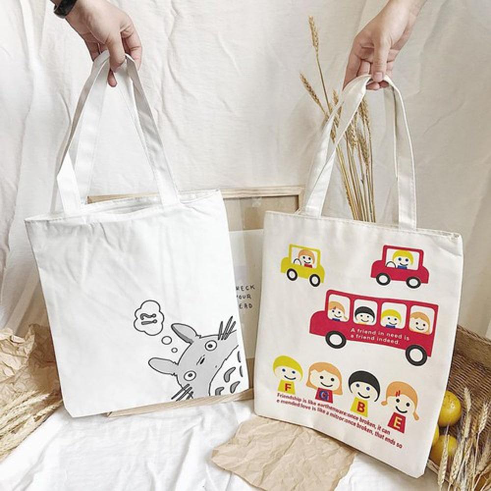 Túi vải canvas in slogan ý nghĩa