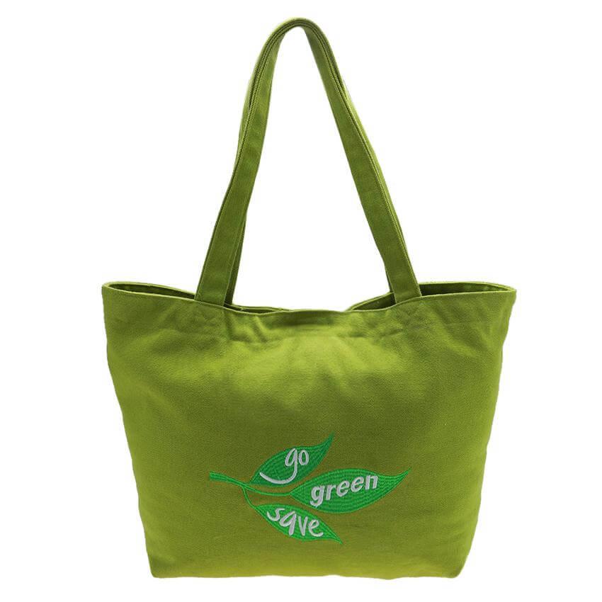 túi xách quảng cáo truyền tải thông điệp xanh