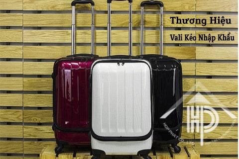 thương hiệu vali kéo nhập khẩu 2021