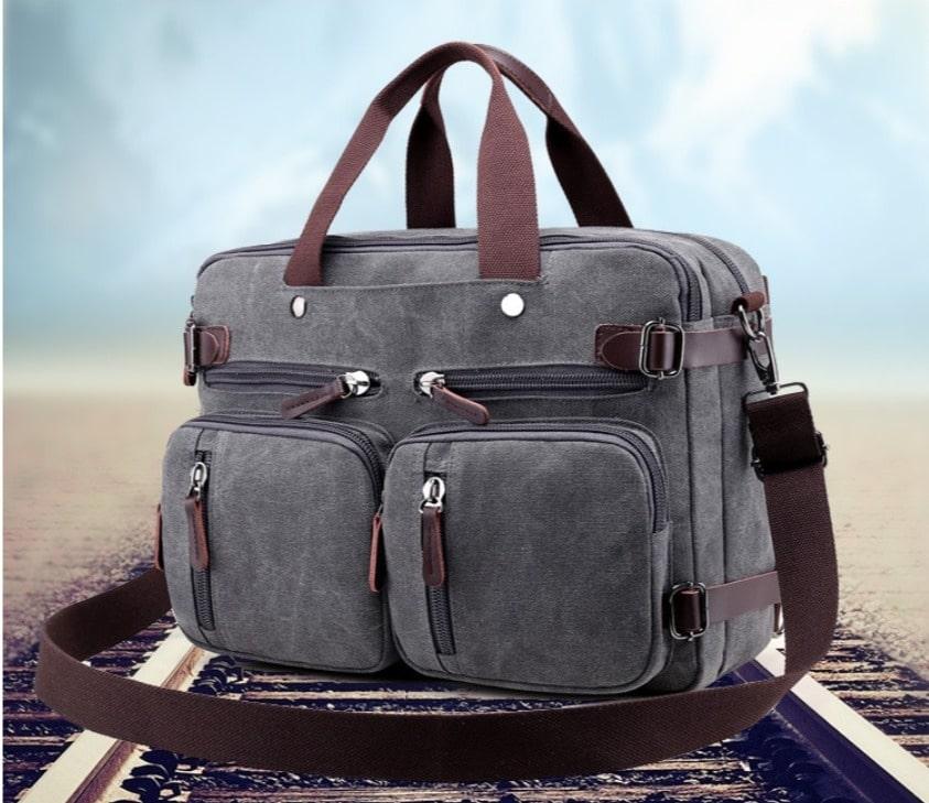 Mẫu túi xách du lịch vải bố