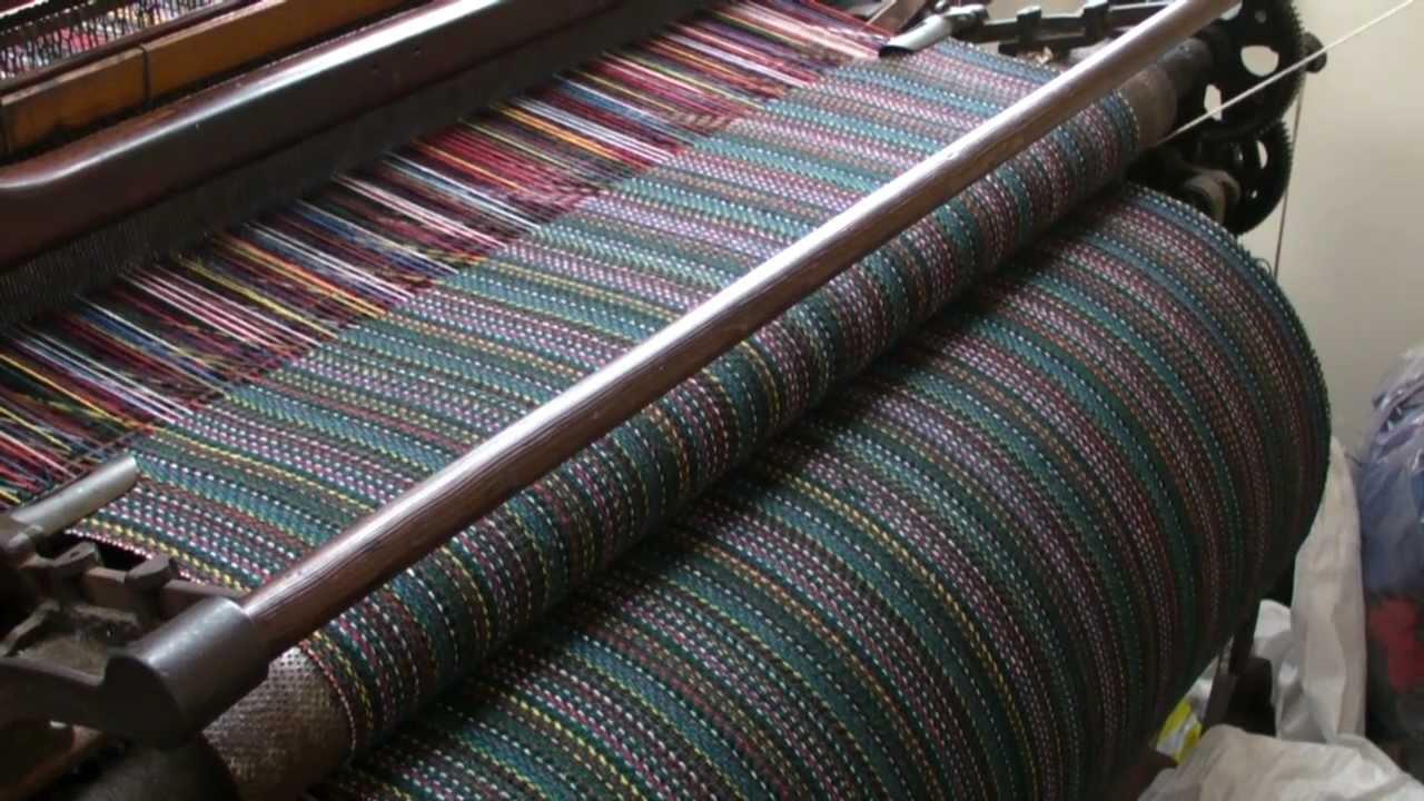 sản xuất vải tweed