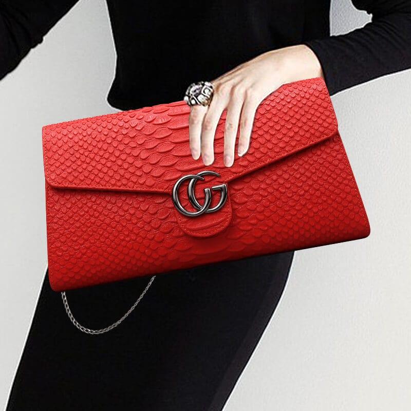 Chọn ví cầm tay nữ theo chất liệu của sản phẩm