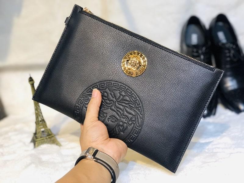 Kiểu ví nam đẹp cao cấp Versace