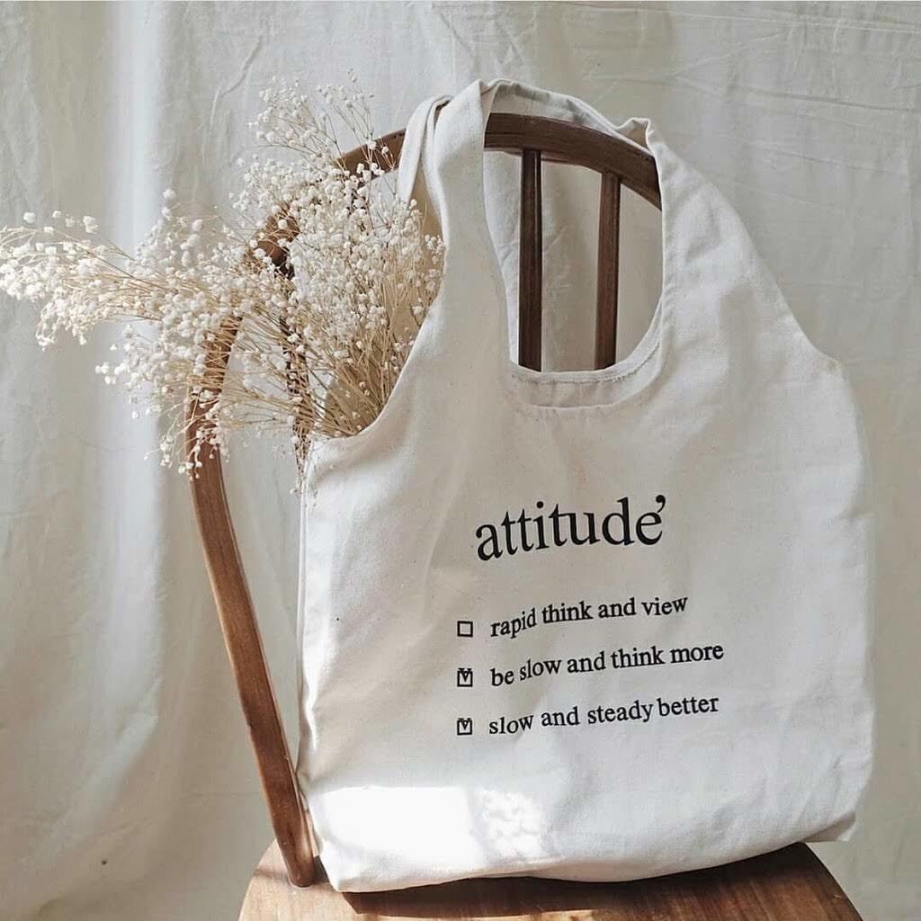 Túi tote nữ Attitude'