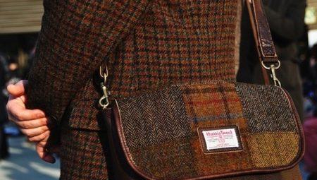 phụ kiện bằng vải tweed
