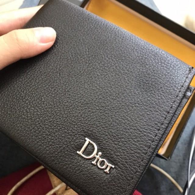 Mẫu ví da nam nhà Dior