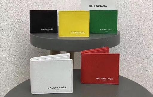 Ví da nam thương hiệu Balenciaga