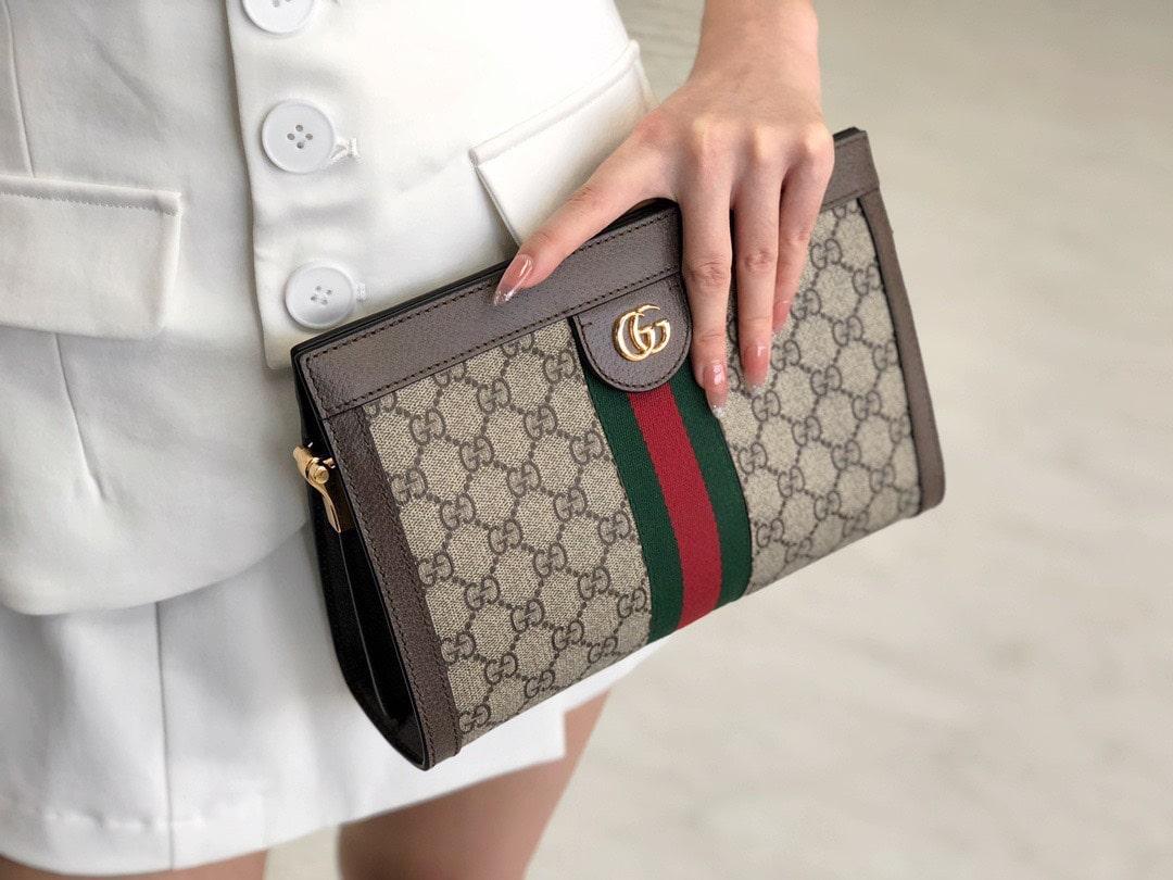 Ví cầm tay thời trang cao cấp Gucci Ophidia