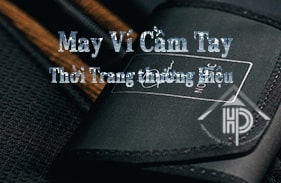 xưởng may ví cầm tay thời trang