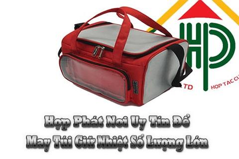 5 lý do nên may túi giữ nhiệt tại hợp phát