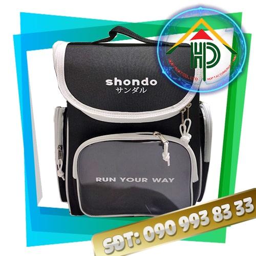 Mẫu balo thời trang Shondo trắng đen