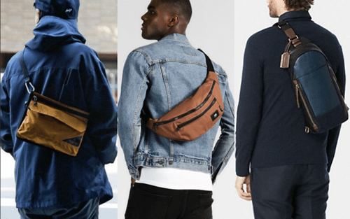Giữa túi đeo chéo nam bằng da và bằng vải loại nào tốt hơn?