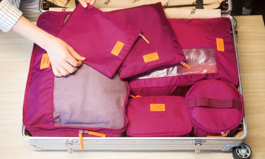 Set túi đựng quần áo du lịch đầy tiện ích