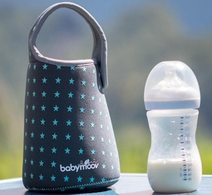 Túi giữ nhiệt bình sữa Babymoov