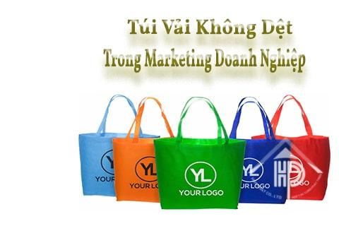 túi vải không dệt trong marketing doanh nghiệp
