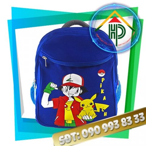 Balo học sinh tiểu học Pikachu