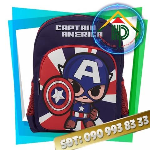 Balo mầm non Captain America